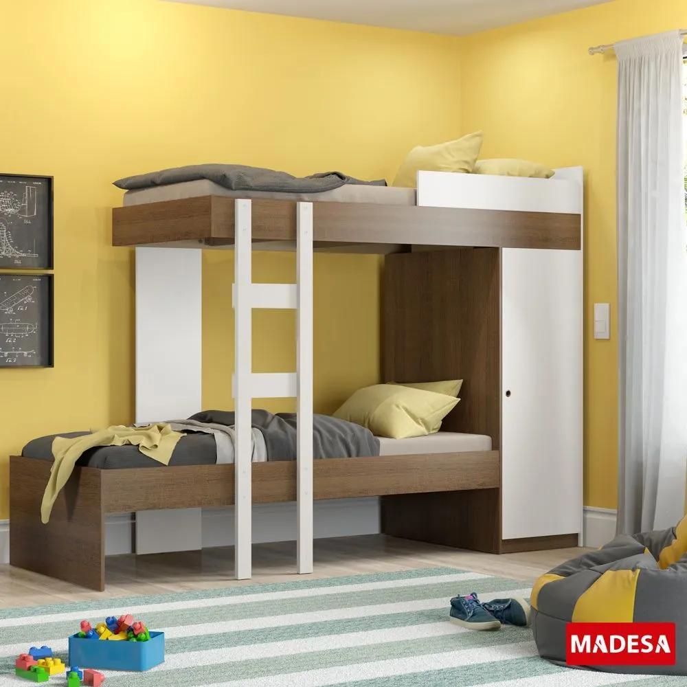 Beliche 1 Porta Manoela 26036e3 Branco - Madesa