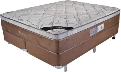 Cama Box Queen Size Maxi Prime New Sued One Side - 158x198x56cm