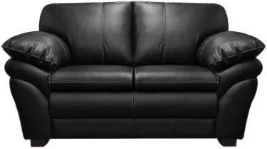 Sofá de Couro Bradley 2 lugares - Mempra