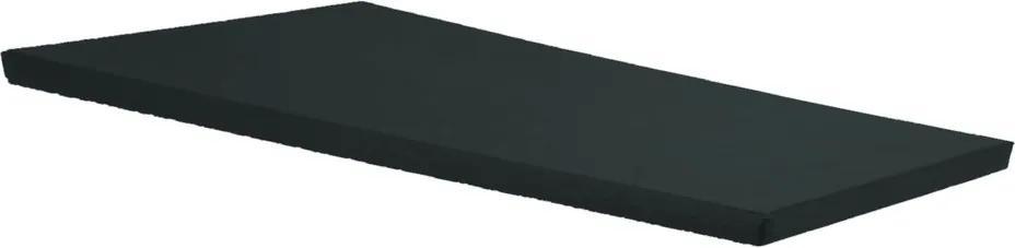 Colchonete Para Visita 180 X 60 X 3 Cm Confort Clean Orthovida (Preto)