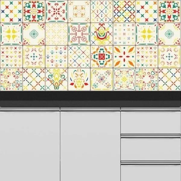 Adesivo Azulejos Modernos 17 (20x20cm)
