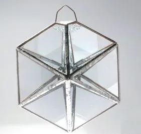 Prisma D'água Hexágono (10cm)