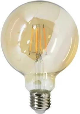 Lâmpada Globo Filamento Led 4W E27 180° 2500K Transparente