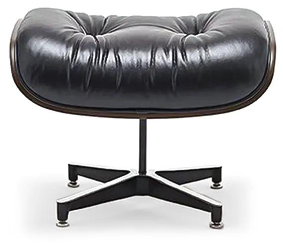 Pufe Lounge Chair Lâmina de Madeira Artesian Clássicos de Design by Charles e Ray Eames