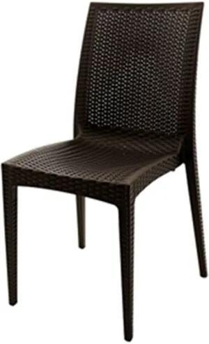 Cadeira Rattan Polipropileno Marrom - 18920 Sun House