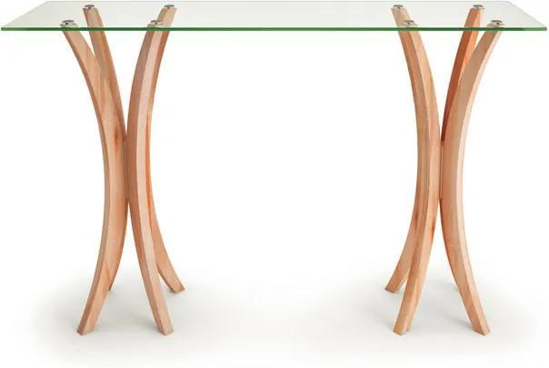 Aparador Retangular com Tampo Incolor