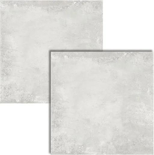 Porcelanato Boston Silver Acetinado AR72026 72x72cm - Viarosa - Viarosa