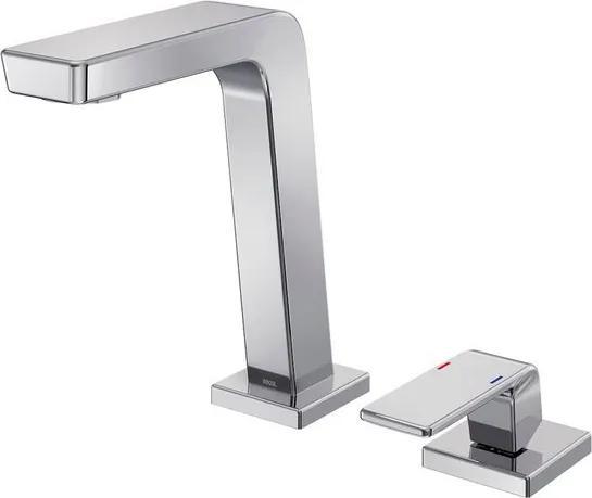 Misturador Monocomando para Banheiro Mesa Bica Baixa Vougan Cromado - 00884506 - Docol - Docol