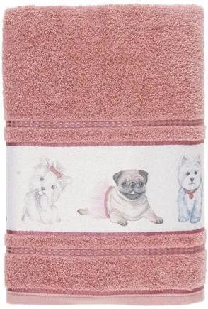 Toalha de Banho Infantil Felpuda Mary Jane  Lady pink