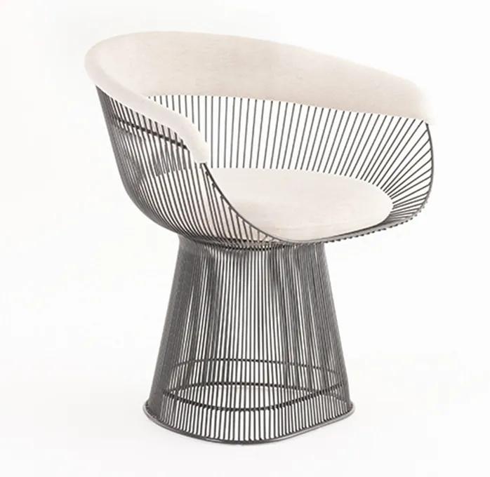Cadeira Platner Inox
