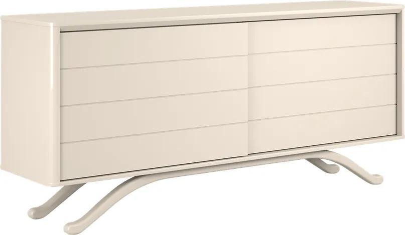 Balcão Chermont 02 Portas Off White - Wood Prime VM 20418