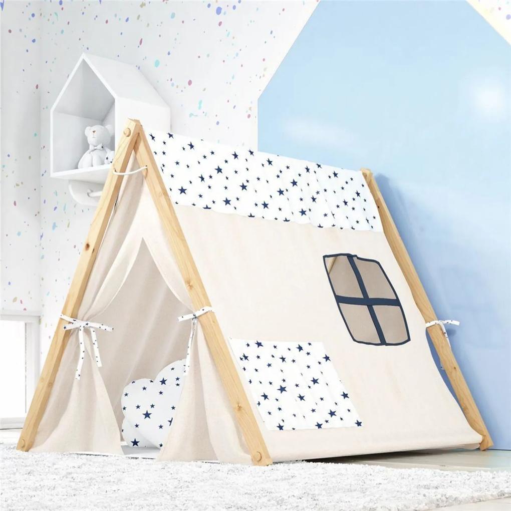 Cabana Infantil Menino Marinho Estrelinhas Grão de Gente Azul