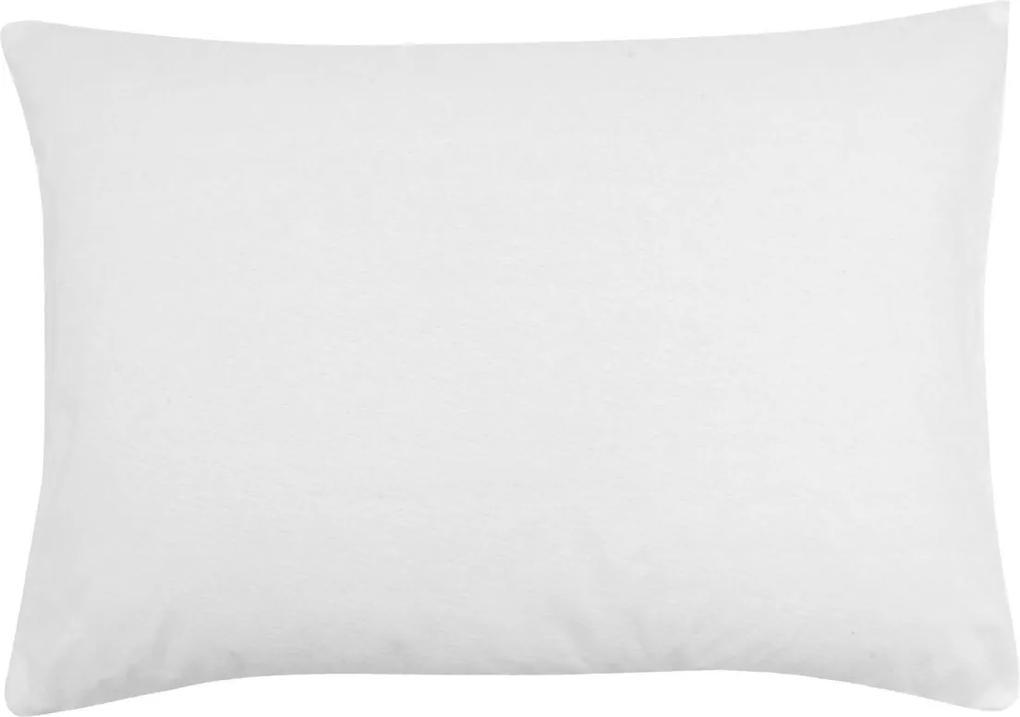 Protetor De Travesseiro Buddemeyer Malha Maison II 50X70 Branco