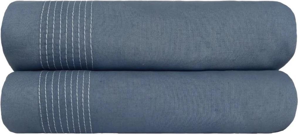 Capa para Duvet L'acqua Solteiro 1,80x2,50 Muguet Home Azul