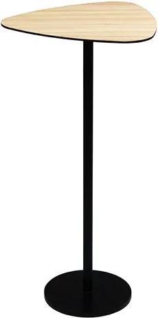 Mesa de Apoio Boreau Baixa em Aço Carbono Pintado Cinamomo