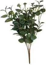 Ramo de Folhas NDI Artificil Eucalipto Plástico 26cm Verde