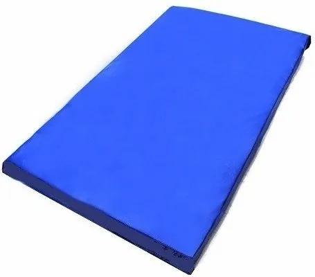 Colchonete Casal Para Visita 180 X 100 X 3 Cm - Em Napa Orthovida (Azul)