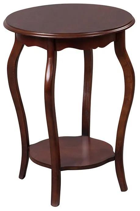 Mesa de Apoio Redonda 50x50 - Wood Prime MY 907303