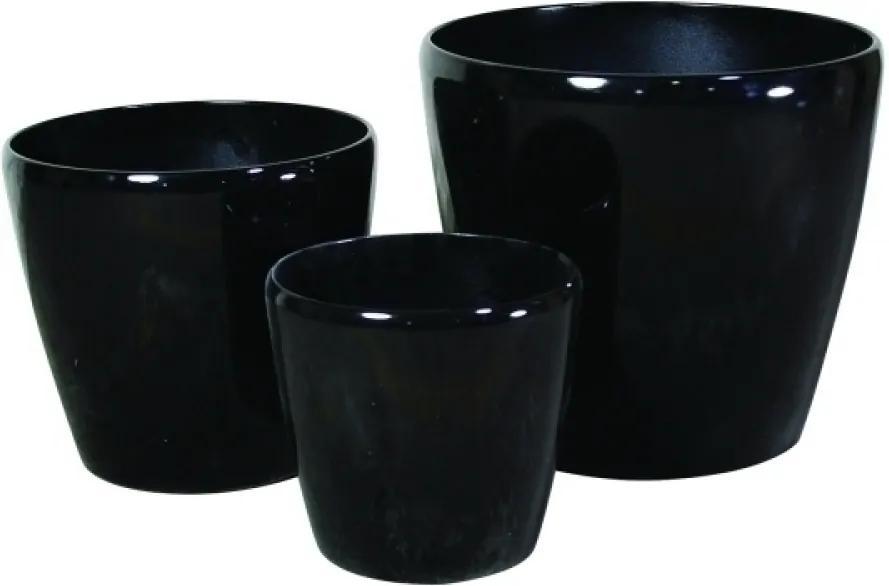 vaso cachepot cerâmica BALINÊS 3pçs Ilunato MG0012
