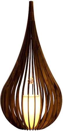 Luminária De Mesa Capadócia Imbuia