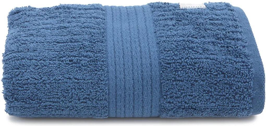 Toalha de Rosto Buddemeyer Canelado Azul
