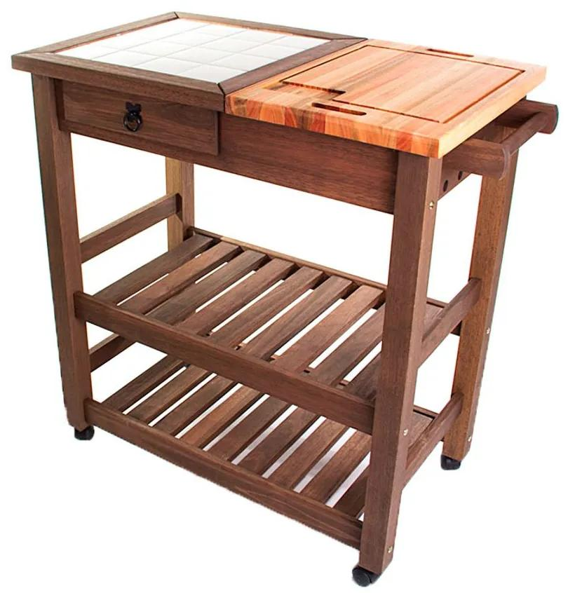 Carrinho Gourmet Grande - Wood Prime MR 218559