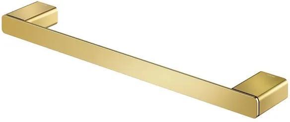 Porta Toalha Bastão Rosto 30cm Flat Ouro Polido - 01013643 - Docol - Docol
