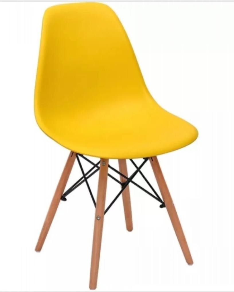 Cadeira MPdecor Eiffel Charles Eames Amarela
