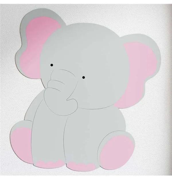 Adesivo Parede Amiguinho Elefante Grão de Gente Ci