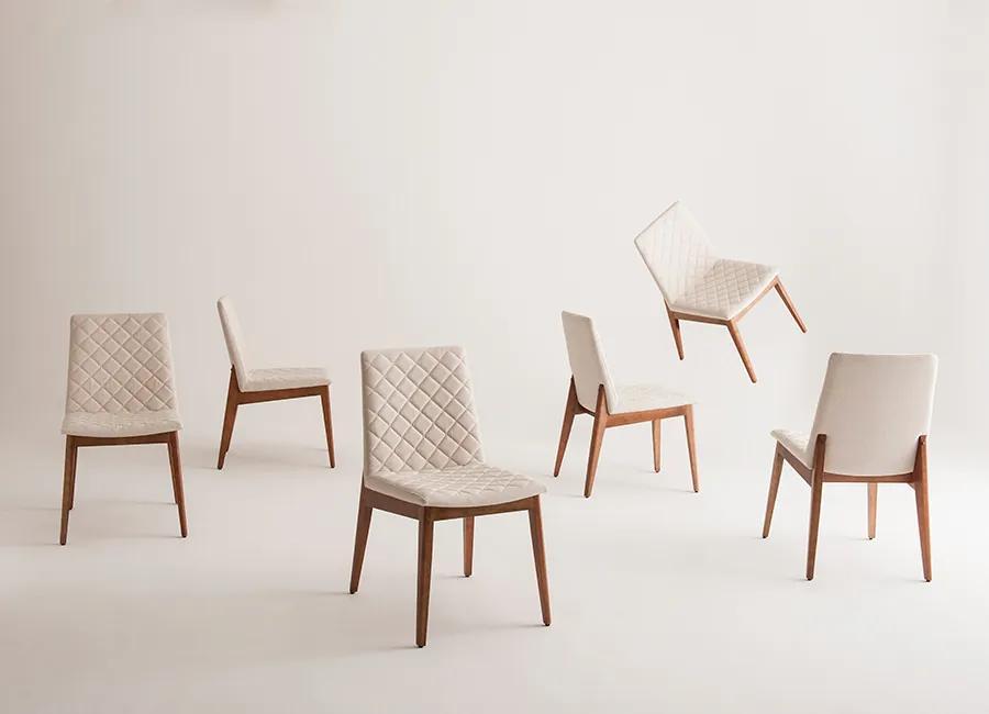 Cadeira de Jantar Skin Matelassê