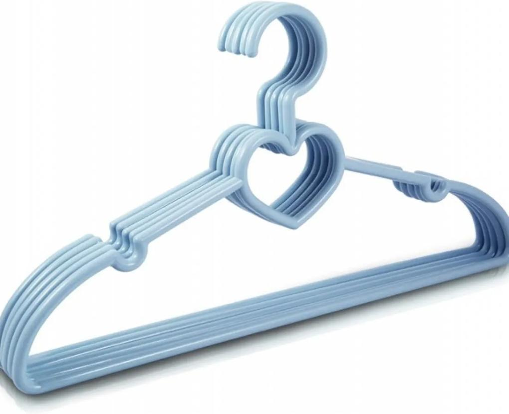 Cabide com 5 Peças - Adulto Jacki Design Lifestyle Azul