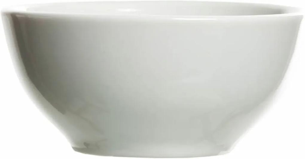 Molhadeira De Porcelana Kit Higiene Potinho de Mel Branca.