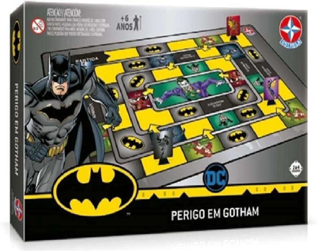 Jogo Batman Perigo em Gotham City - Estrela