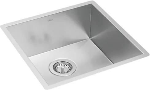 Cuba para Cozinha Quadrada Quadratta Inox 43,6x43,6cm - CC.600.40.STD.INX - Deca - Deca