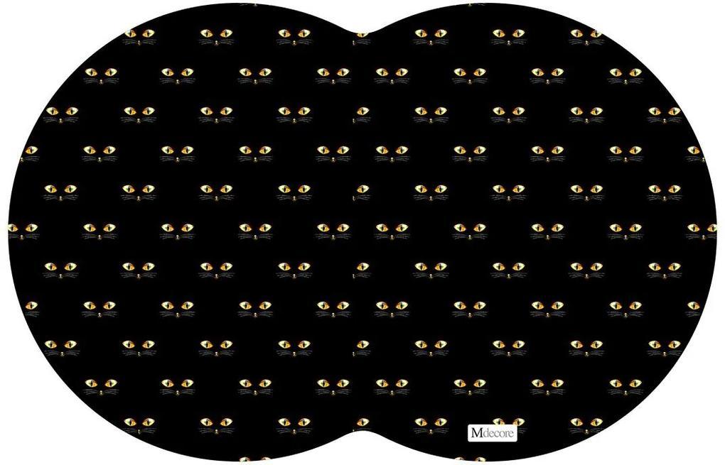 Tapete PET Gato Preto54x39cm