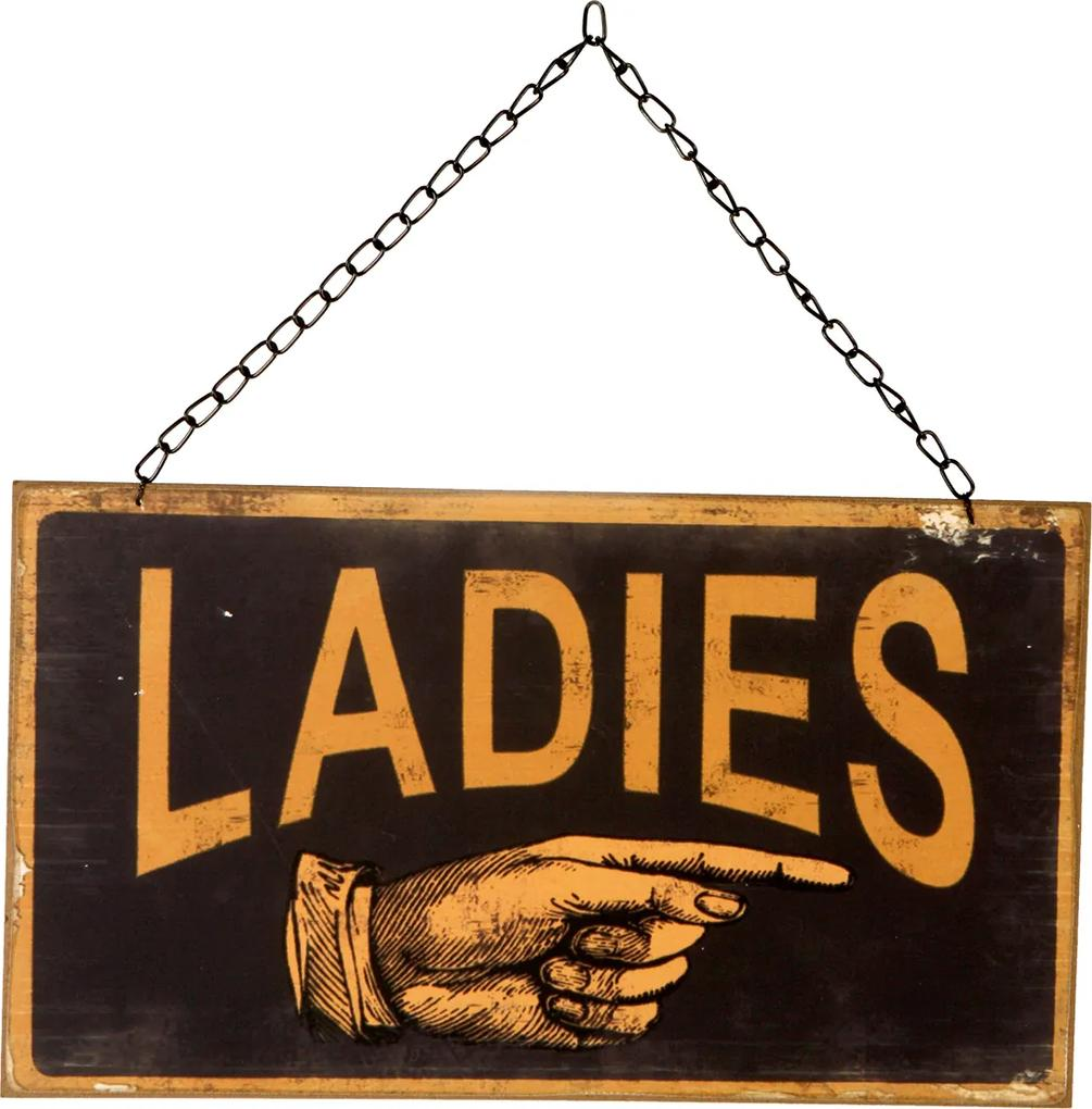 Placa Decorativa Ladies