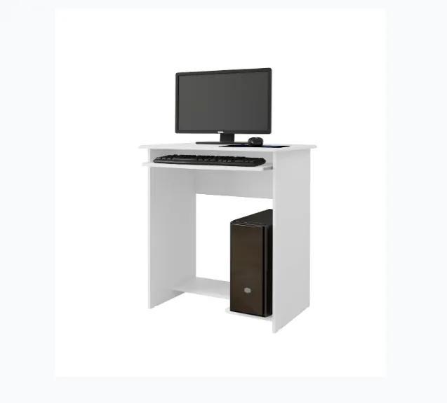 Mesa para Computador Pratica Branco - EJ Moveis
