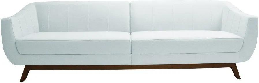 Sofá Boomer 230cm Corano Branco - Gran Belo
