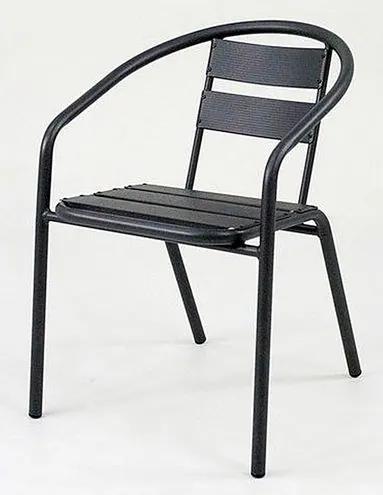 Cadeira Fun em Aluminio Preta - 58399 Sun House