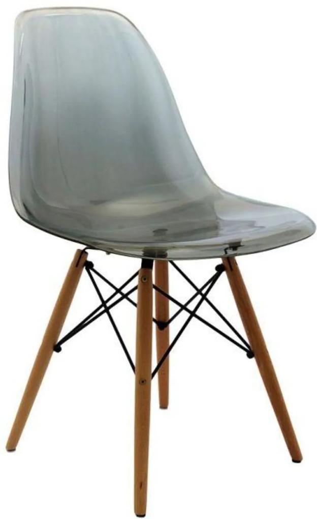 Cadeira Oia Decor Policarbonato Preto