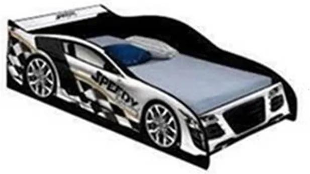 Cama Carro Speed Solteiro Branco - J&A Móveis