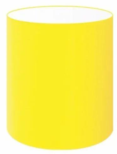 Cúpula Abajur Cilíndrica Cp-8001 Ø13x15cm Amarelo