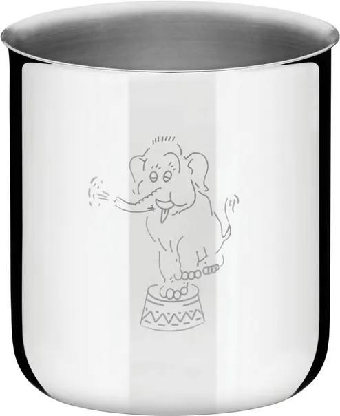 Copo Infantil Tramontina em Aço Inox 340 ml