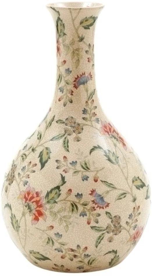 vaso MILANO cerâmica floral 20cm Ilunato TG0032