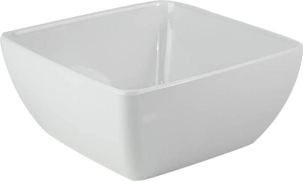 Saladeira Quadrada 9 Cm Melamina 100% Profissional
