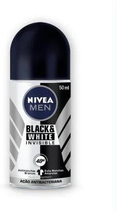 NIVEA DEO ROLL ON BLACK & WHITE MASCULINO