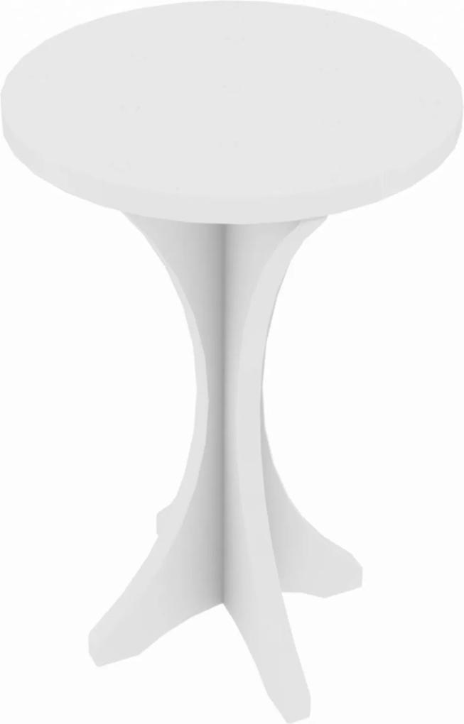 Mesa Lateral Kind Móveis Dora Branco