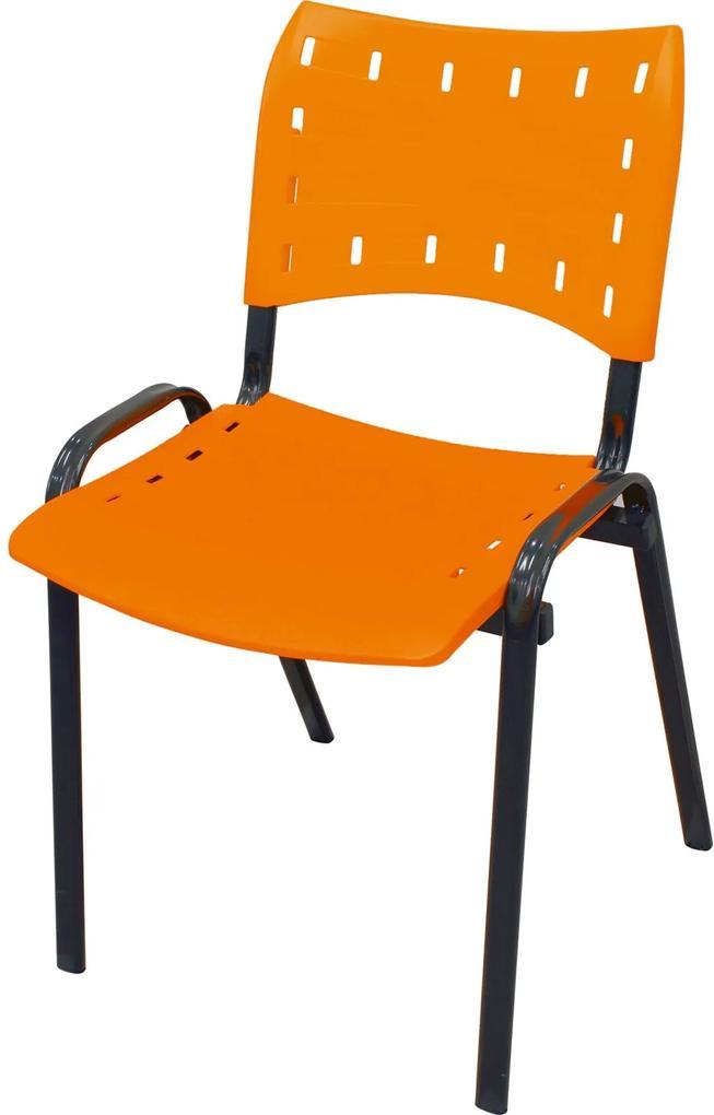 Cadeira Isomix preto/laranja AçoMix