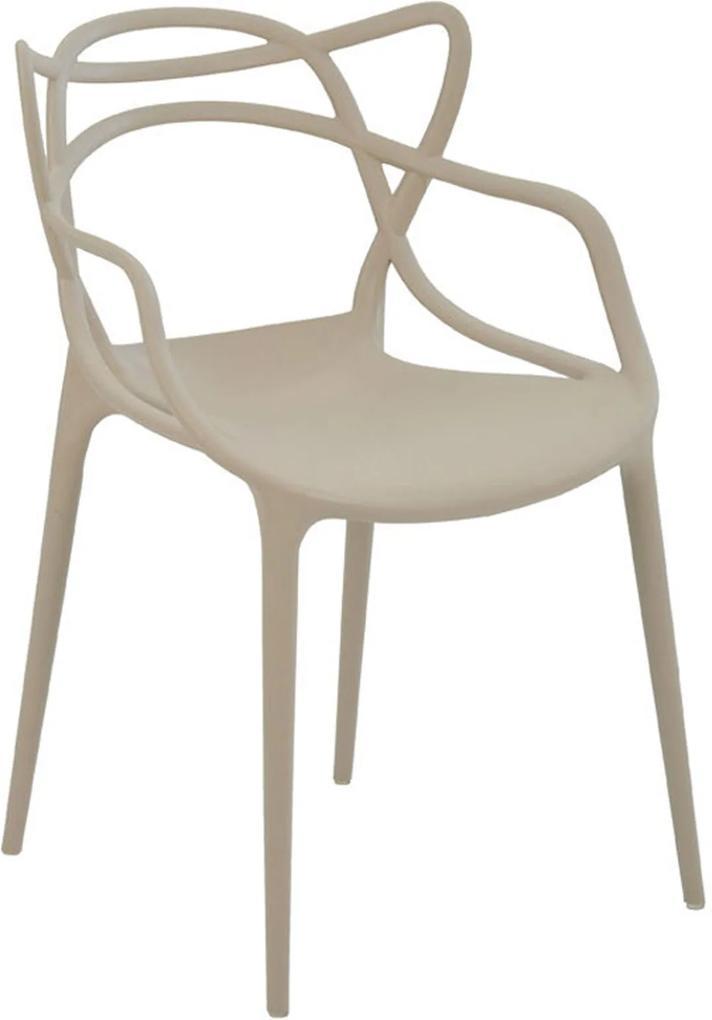 Cadeira Allegra Nude Rivatti Bege