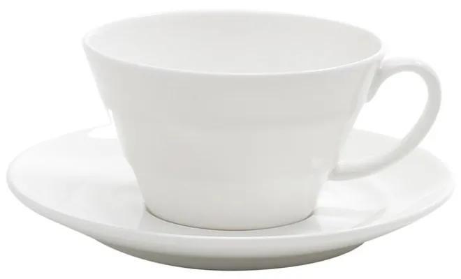 Jogo De Xícaras De Café Porcelana 6 Peças Bone China Bamboo 100ml 1187 Wolff